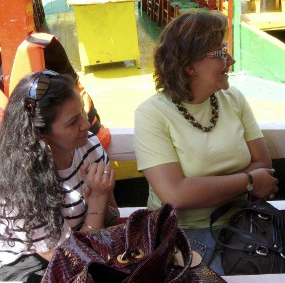 Nužudytosios žurnalistės Ana Maria Marcela Yarce Viveros (kairėje) ir Rocio Gonzalez Trapaga