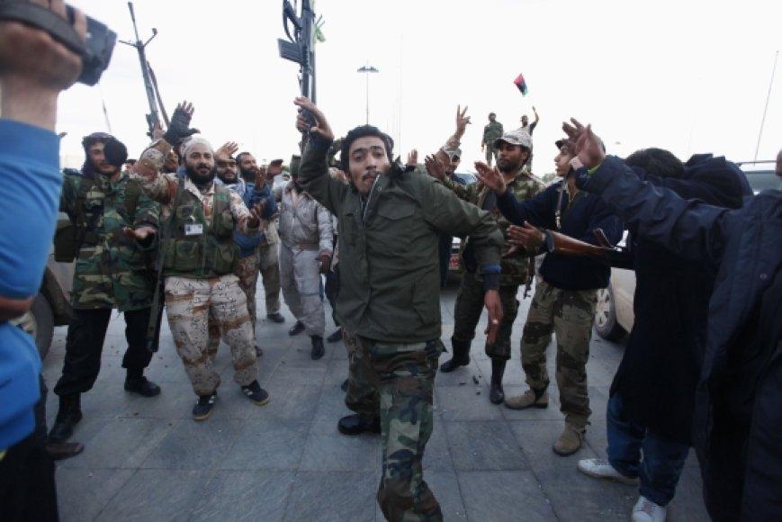 Sukilėliai Sirte
