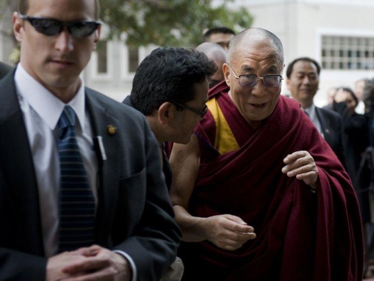 Dalai Lama atvyko į Jungtines Valstijas