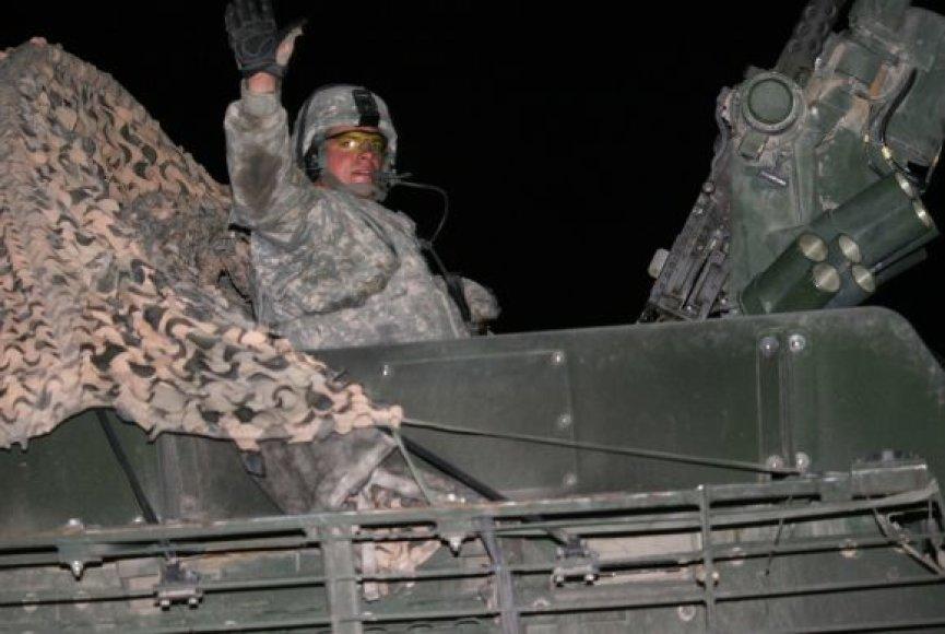 JAV kariai išvyksta iš Irako.