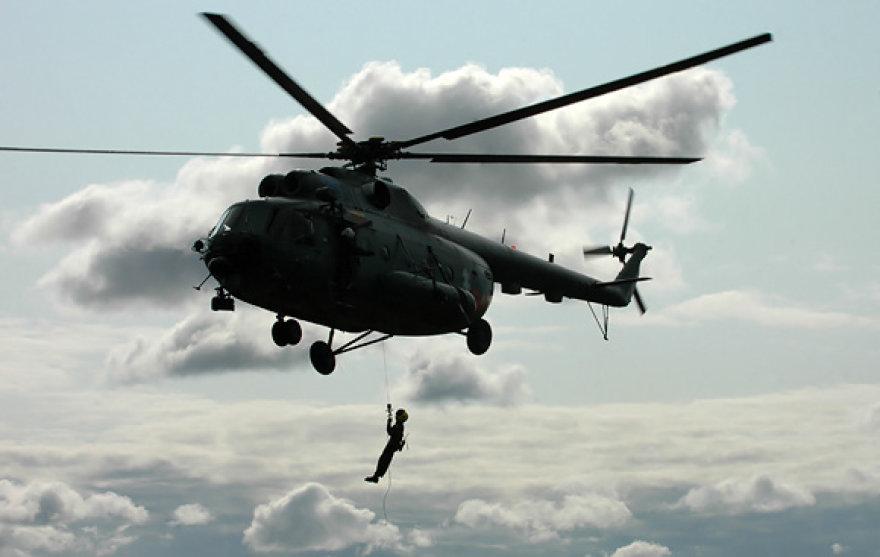 Sraigtasparnio įgulos parodomoji programa