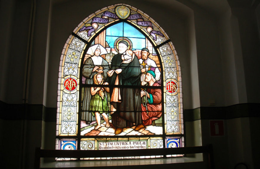 Vitražas Chelmno moterų vienuolyne