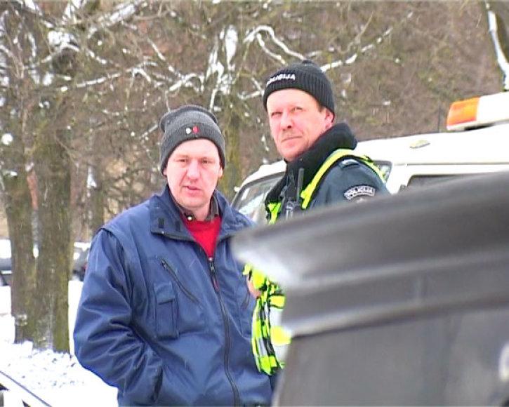 Policijos sulaikytas vairuotojas