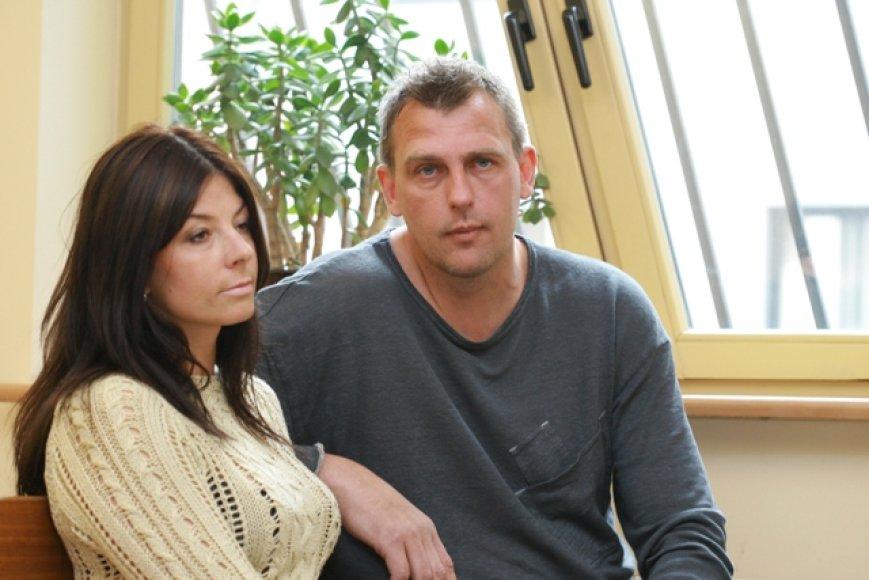 Jurgita Narmontienė ir Gintaras Einikis
