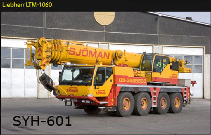 """Kranas """"Liebherr LTM 1060"""""""