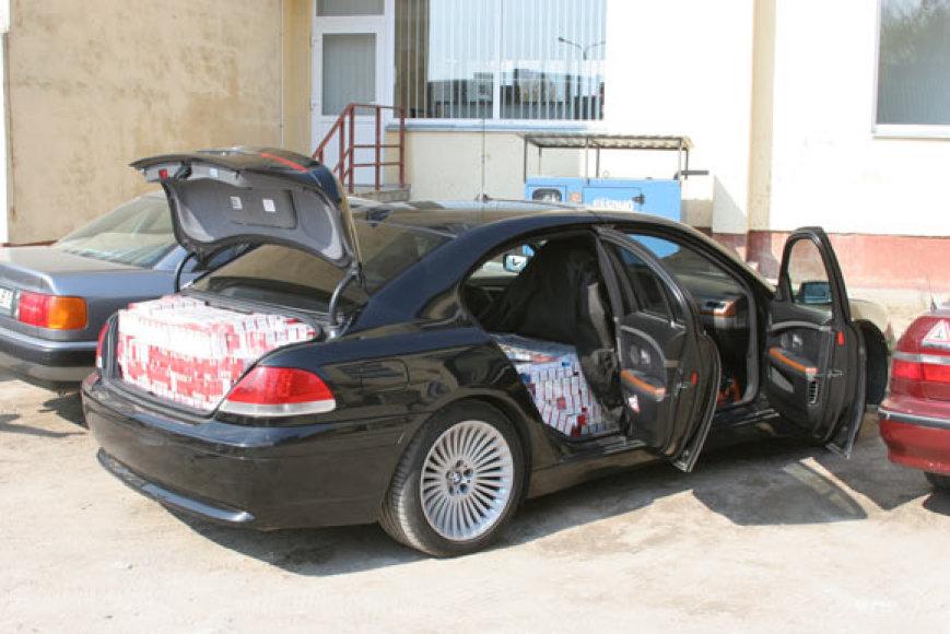 Kontrabanda automobilyje BMW