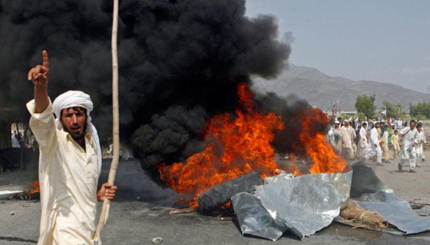 Per Afganistaną nusirito protestų banga dėl ketinimų sudeginti Koraną