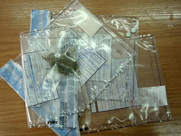 Policijos konfiskuoti narkotikai