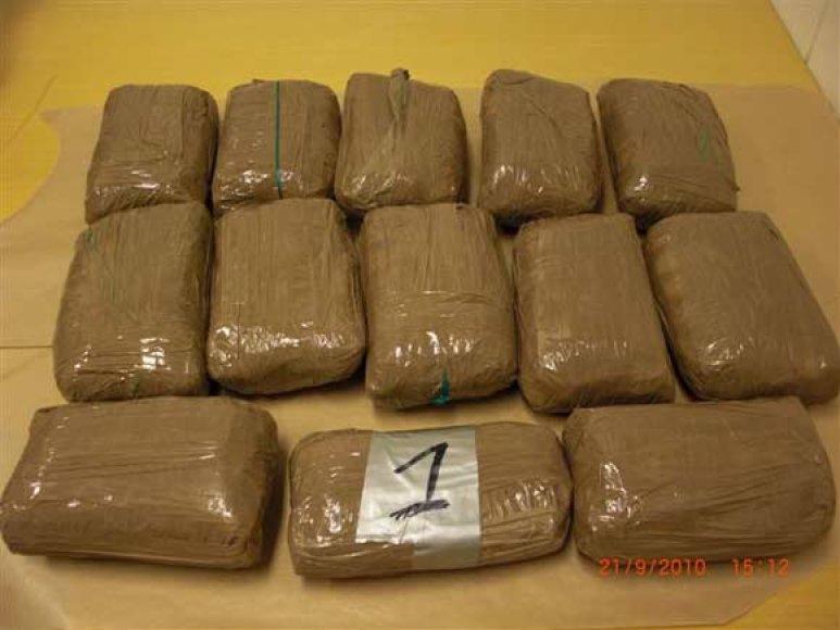 Norvegijos muitininkų konfiskuotas amfetaminas