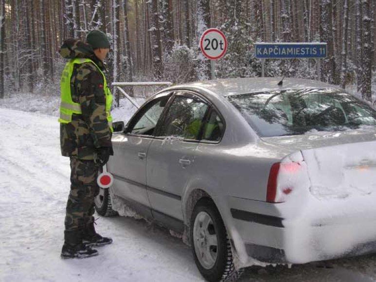 Pratybos Lenkijos pasienyje