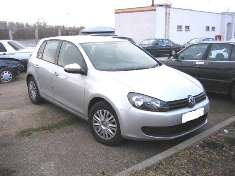 """Didžiojoje Britanijoje vogtas """"VW Golf"""""""