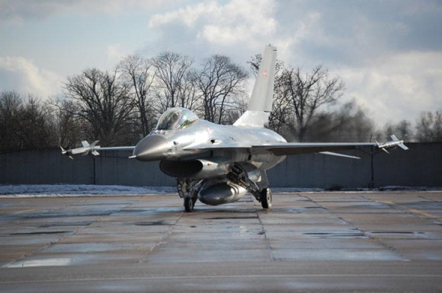 Danijos KOP F-16