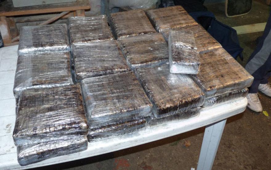 Per kratas rasti narkotikai, vertinami 2 mln. litų