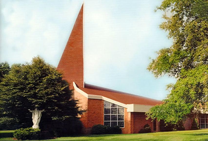 Dievo Apvaizdos bažnyčia, kurioje dirbo kunigas Ričardas Repšys