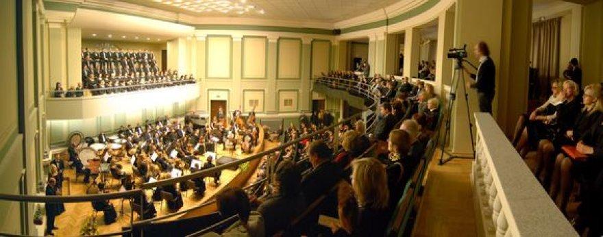 Kauno savivaldybė filharmonijos rekonstrukcijai skyrė beveik 7 mln. litų.