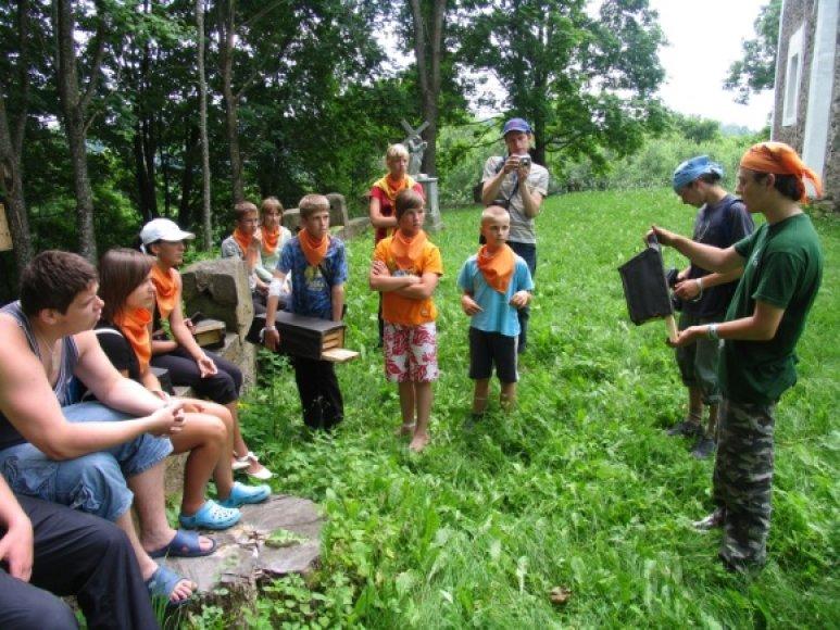 Jaunimo stovykla Dubysos regioniniame parke
