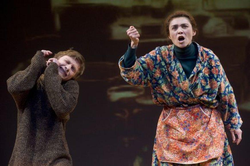 """""""Prakeikta meilė"""" belsis į Ukrainos ir Baltarusijos žiūrovų širdis."""