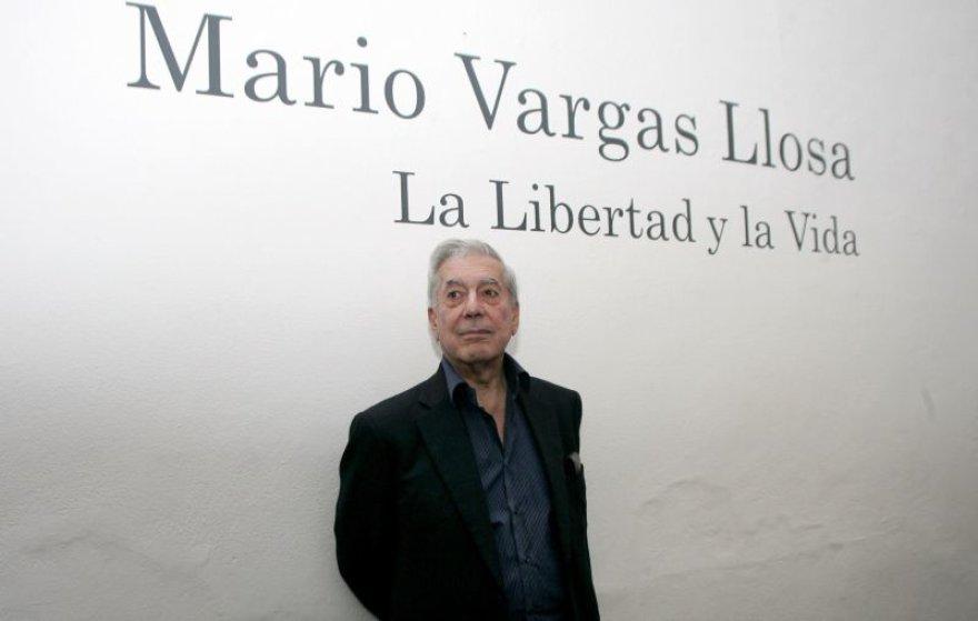 Peru rašytojas Mario Vargasas Llosa
