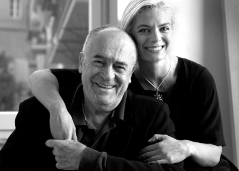 Bernardo Bertolucci ir Angela Ismailos
