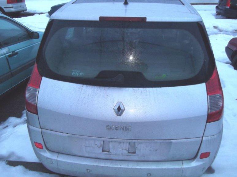 Lazdijų pasieniečiai sulaikė ką tik prancūzijoje pavogtą automobilį.