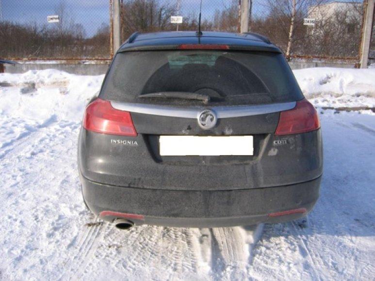 Šiaulietis į Lietuvą varė Didžiojoje Britanijoje pasisavintą automobilį.