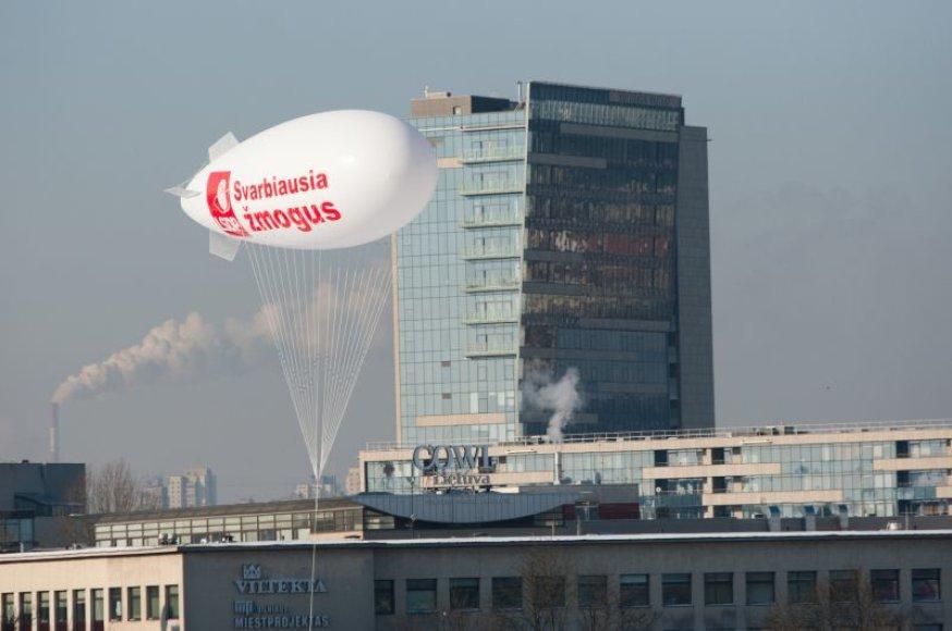 Socialdemokratų partijos reklama.