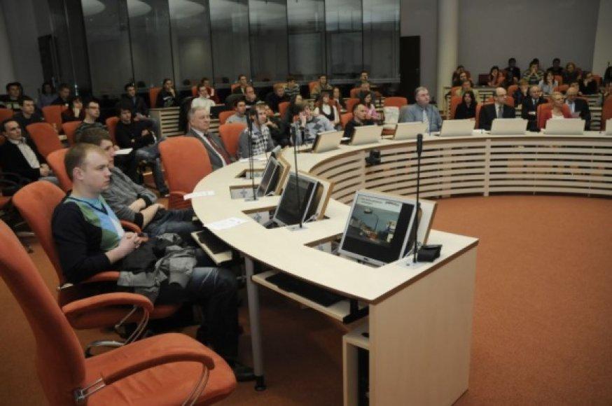MRU rengiamoje konferencija – ateities verslo pradmenys.