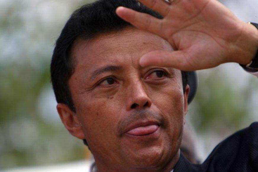 Madagaskaro prezidentas Marcas Ravalomanana