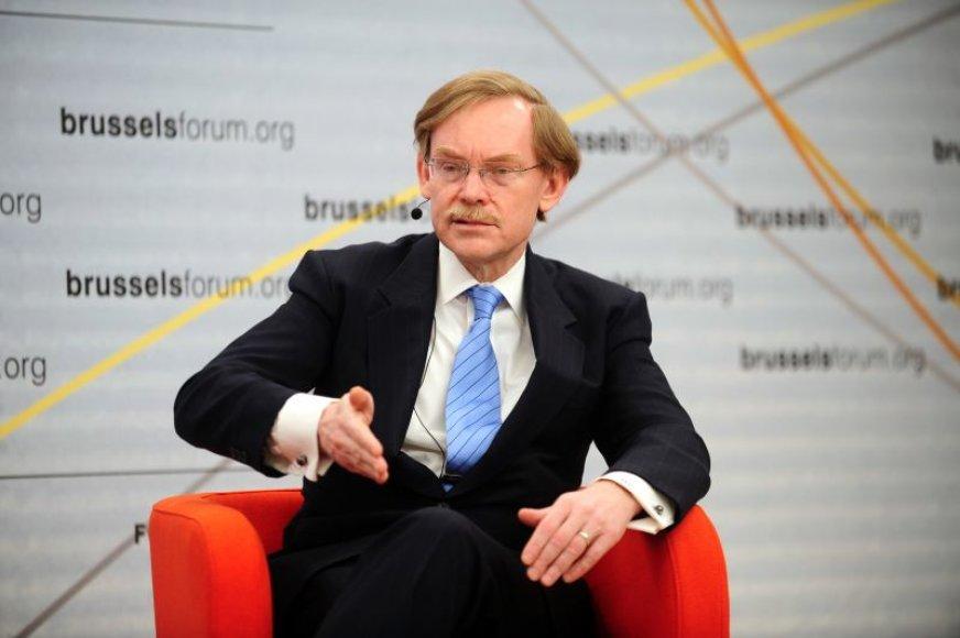 Pasaulinio banko vadovas Robertas Zellickas
