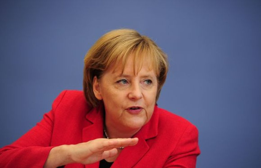 Vokietijos gyventojai nepatenkinti Angelos Merkel (nuotr.) paskelbtu taupymo planu.