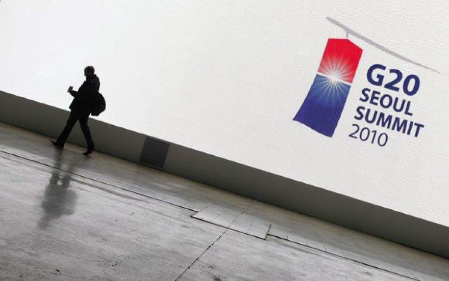 Prieš konferenciją Seule, skaičiuojami ankstesnių G20 susitikimų rezultatai