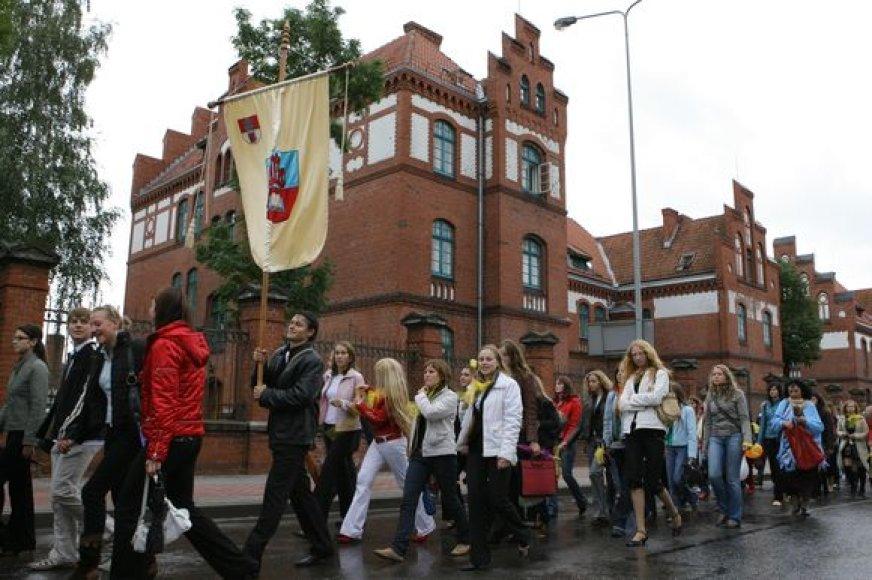 Universiteto miestelyje įsikurs dar daugiau fakultetų, bus statomi nauji bendrabučiai.