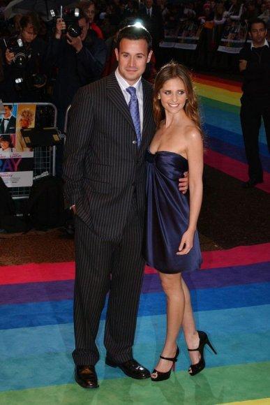 Sarah Michelle Gellar su vyru Freddie Prinze