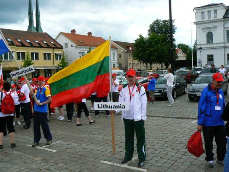 Nerijus Maskolaitis atstovauja Lietuvai.