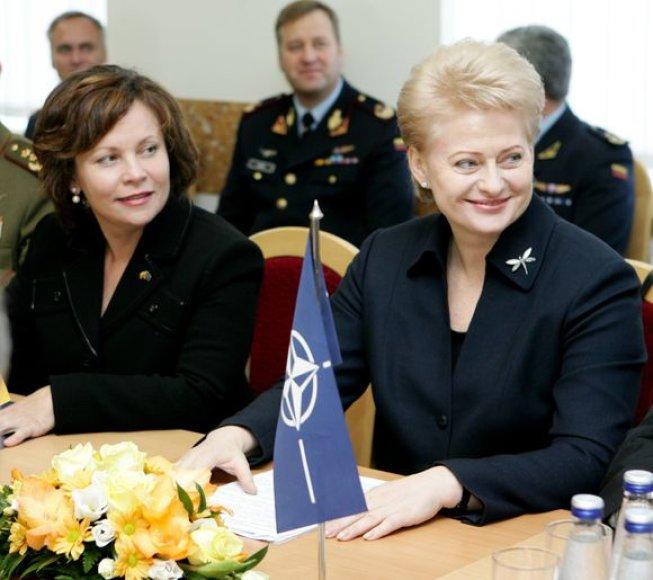 Rasa Juknevičienė ir Dalia Grybauskaitė