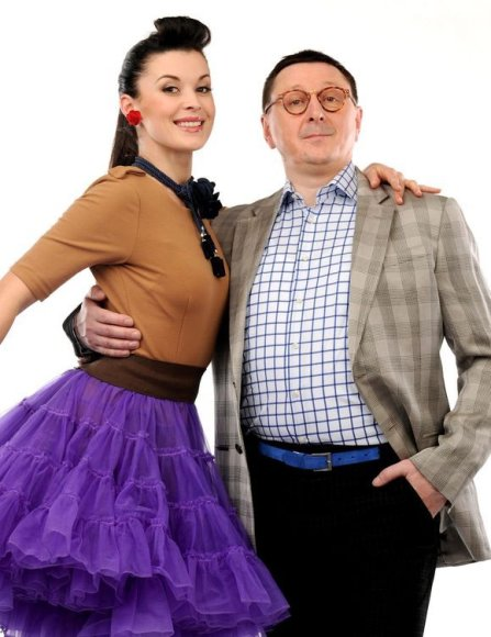 Laura Imbrasienė ir Vytautas Šerėnas