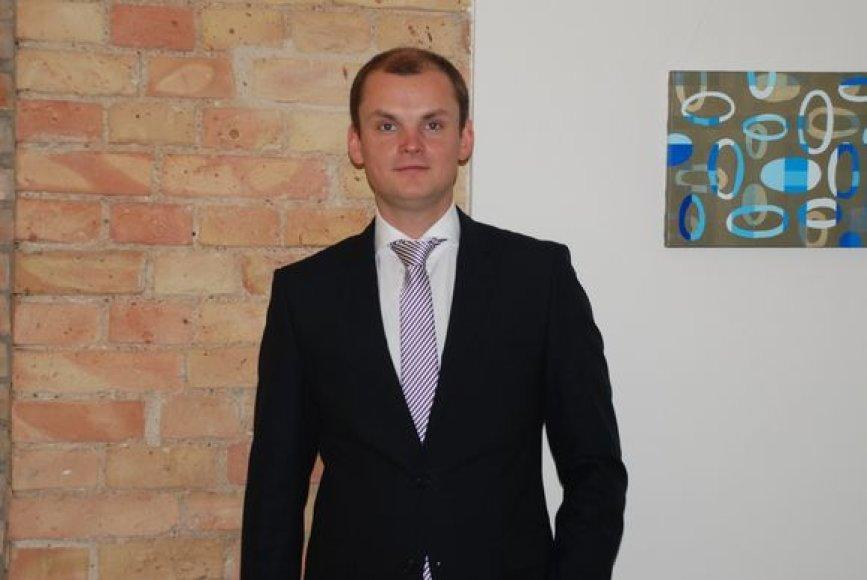 ŠMTP direktorius Gediminas Pauliukevičius