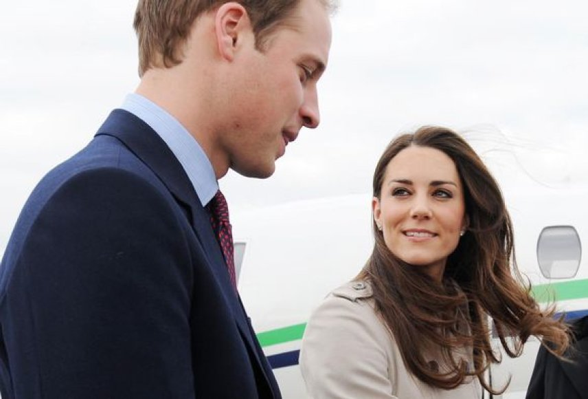 Princas Williamas ir Kate Middleton