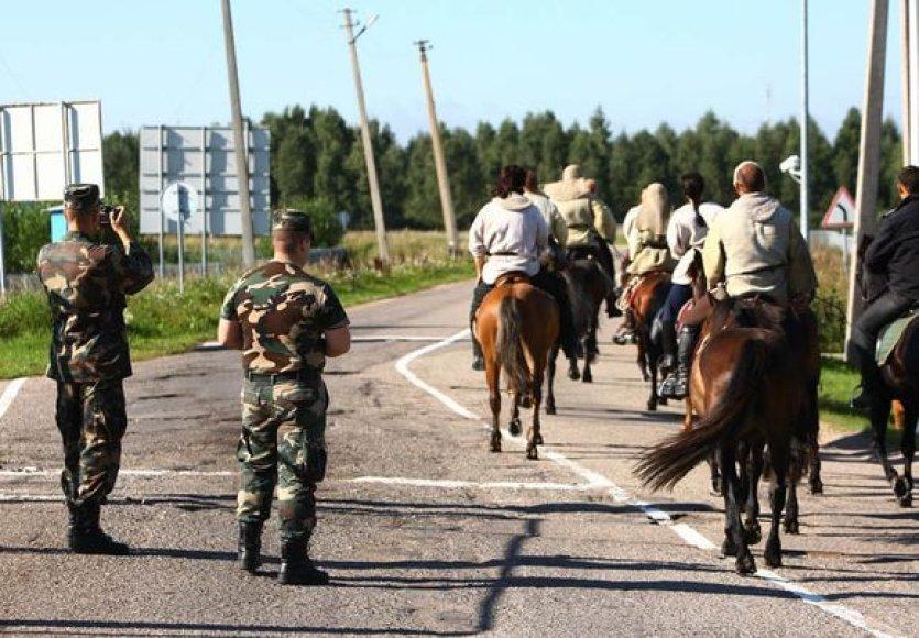 Baltarusijos sienos kirtimas