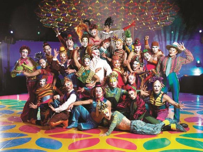 """Cirque du Soleil"" artistų trupė"