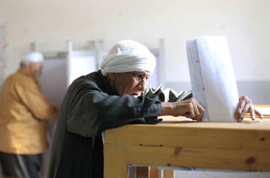 Balsavimas Kaire
