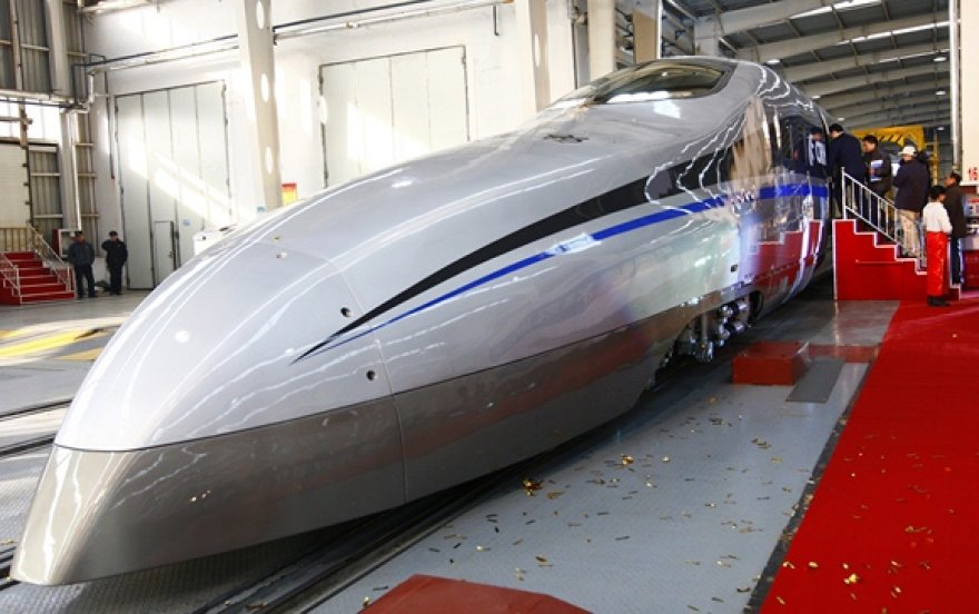 Greitaeigio traukinio prototipas