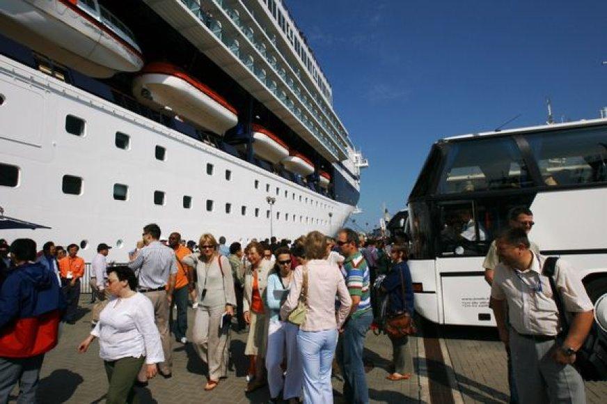 Klaipėdoje šiemet apsilankė tiek pat turistų, kaip ir pernai.