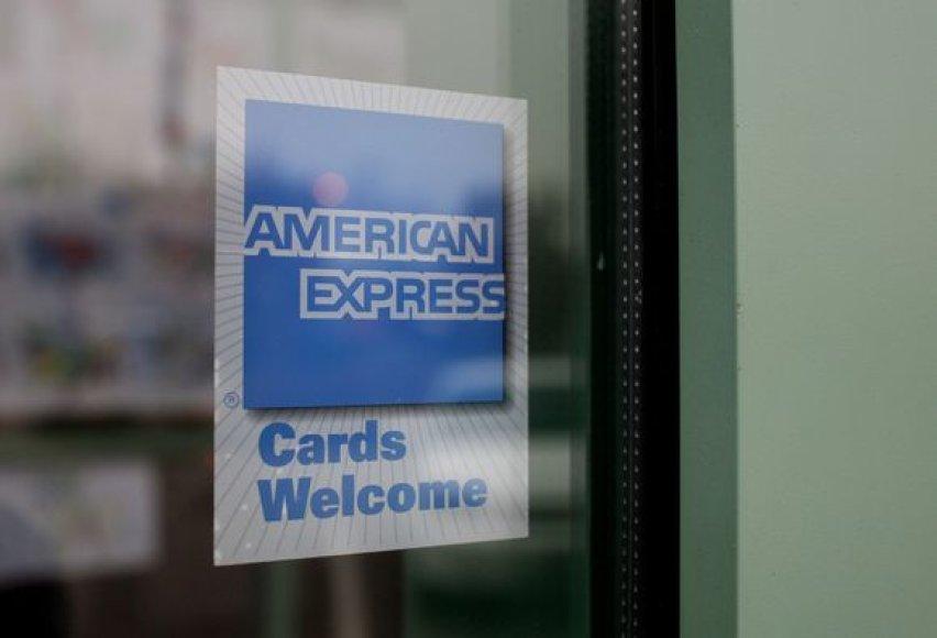 """""""American Express"""" tapo banku"""