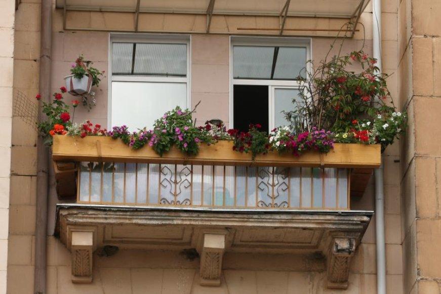 Žydintys balkonai