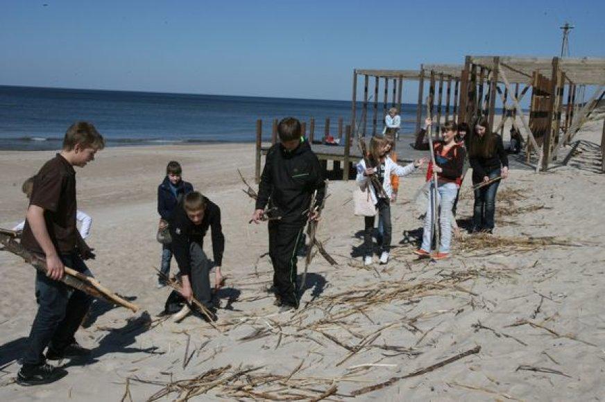 Šiemet Klaipėdos ir Neringos paplūdimių tvarkymui skirta mažiau lėšų. Tik Palanga šiom reikmėms skiria tiek pat lėšų, kaip pernai.