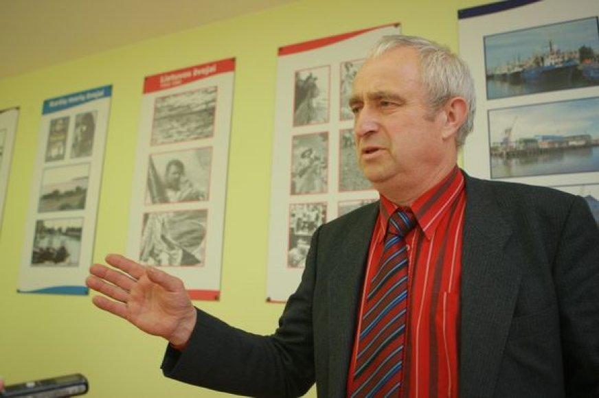 A.Bargaila įsitikinęs, kad dujotiekis neabejotinai atneš žalos lietuvių žvejams.