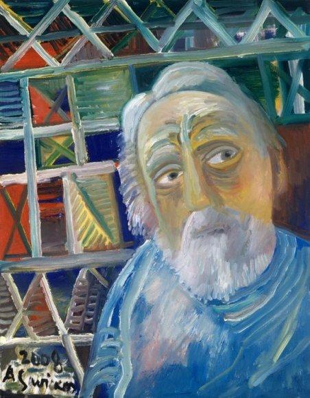 A.Savicko autoportretas