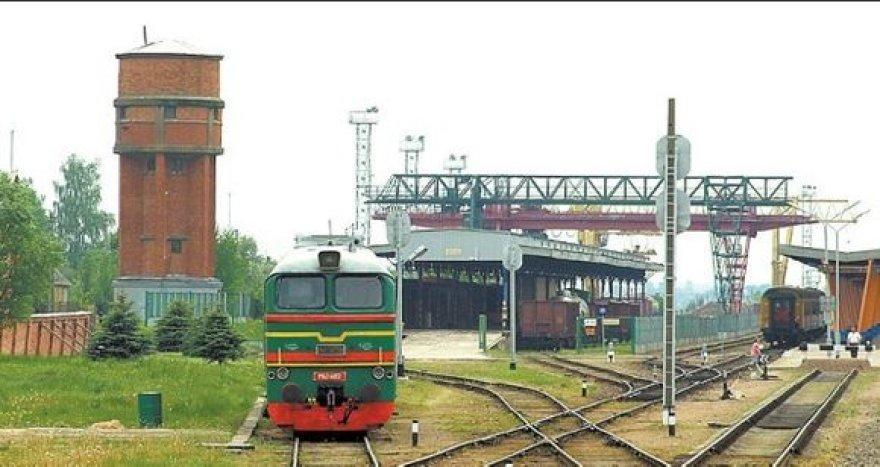 Šeštokų geležinkelio stočiai iki šiol tenka nedidelis krūvis.