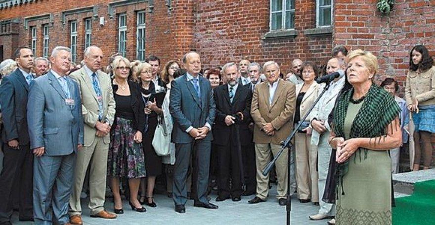 Į muzikos šventę Plungėje susirinko gausus būrys garbių svečių ir rėmėjų.